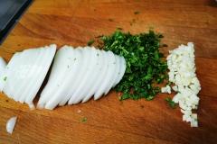 Corte de Especias para salsa de sobre-uso